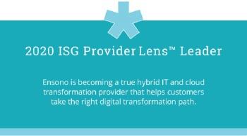 ISG Provider Lens Leader emblem